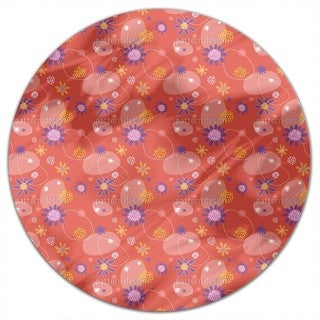 Flowers Mira Round Tablecloth