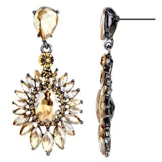 Fancy Champagne Drop Earrings