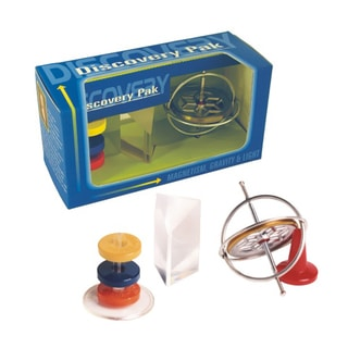 Tedcotoys Gyroscope With Prism And Magnets Discovery Pack
