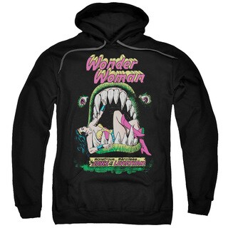 DC/Jaws Adult Pull-Over Hoodie in Black