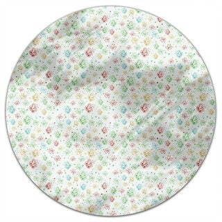 Butterfly Springtime Round Tablecloth