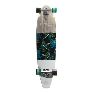 Kryptonics Black 40-inch Blocktail Longboard