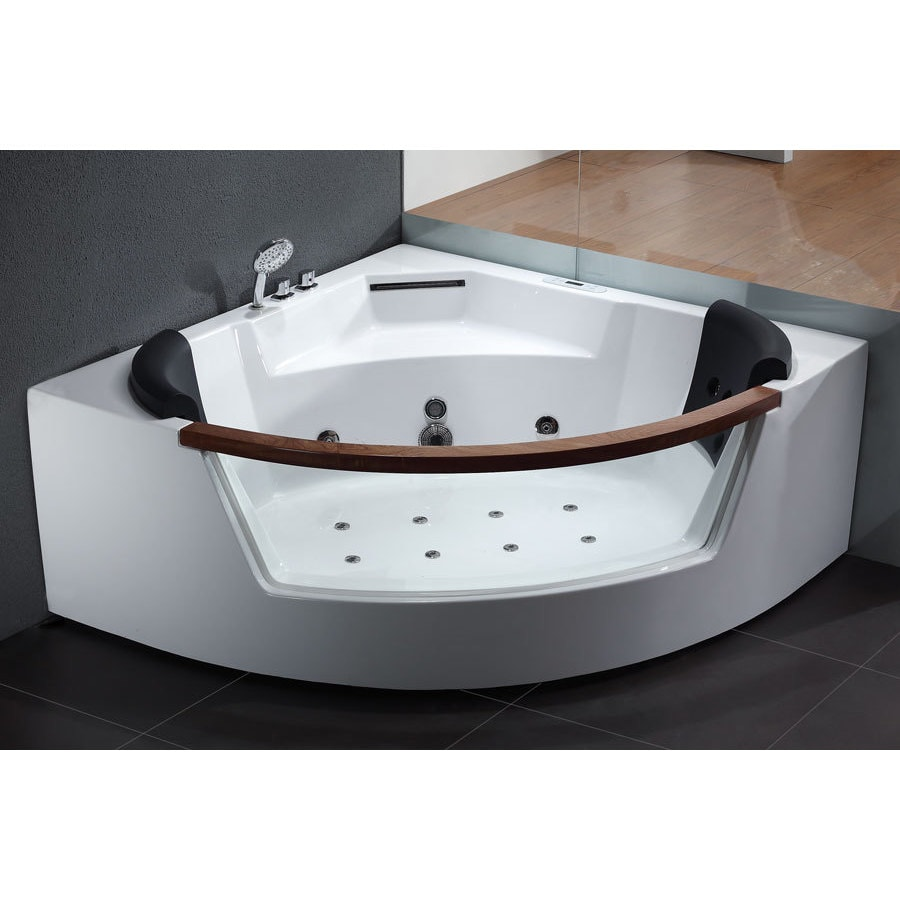 EAGO AM197 White Acrylic 5-foot Whirlpool Bath Tub 45635311701 | eBay