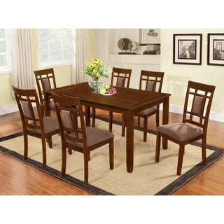 Inworld Dark Cherry 7-Piece Dining Set