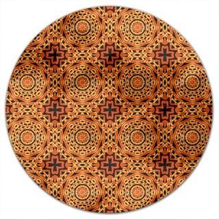 Orient Express Retro Round Tablecloth