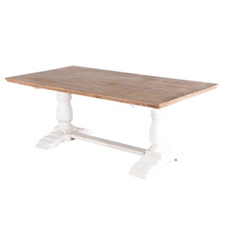 White Washed Mango Table (India)