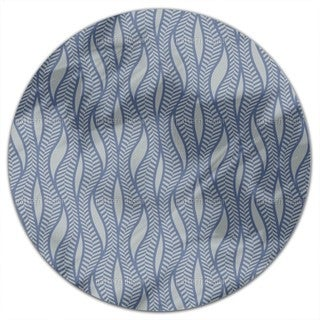 Herringbone Thicket Round Tablecloth