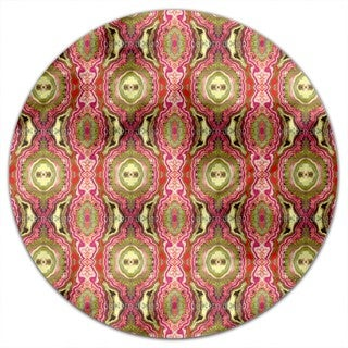 India Express Round Tablecloth