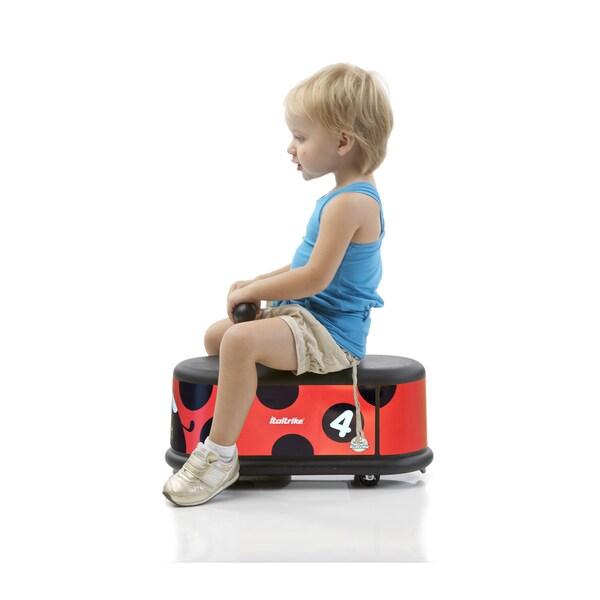 Italtrike La Cosa Foot-to-floor Lady Bug Ride-on Toy