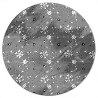 Skandiflor Grey Round Tablecloth