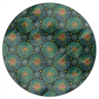 Planetas Round Tablecloth