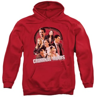 Criminal Minds/Brain Trust Adult Pull-Over Hoodie in Red