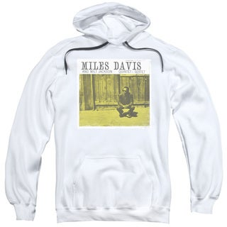 Concord Music/Miles and Milt Adult Pull-Over Hoodie in White