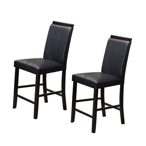 Counter Height Parsons Chairs (Set of 2)
