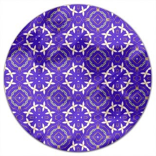 Princess Of Flowers Round Tablecloth