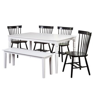 Simple Living Parma Dining Set with Bench