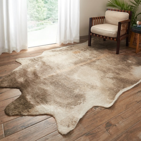 Shop Faux Cowhide Area Rug On Sale Free Shipping Today