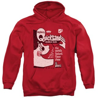 Dubble Bubble/Quicksand Adult Pull-Over Hoodie in Red