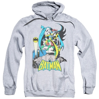 DC/Heroic Trio Adult Pull-Over Hoodie in Athletic Heather