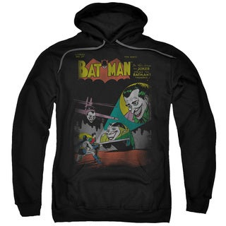 DC/Wrong Signal Adult Pull-Over Hoodie in Black