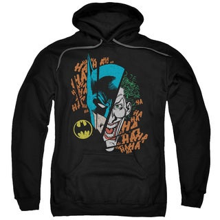 DC/Broken Visage Adult Pull-Over Hoodie in Black