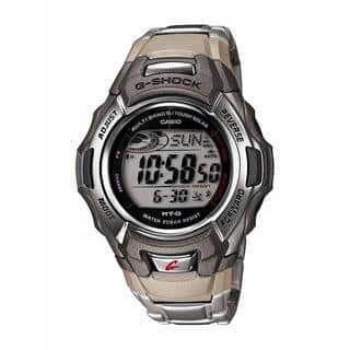 Casio Mens G Shock Stainless Steel Tough Solar Atomic Digital Watch|https://ak1.ostkcdn.com/images/products/11864904/P18764412.jpg?impolicy=medium