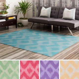 Hand-Tufted Chinatown Poly Acrylic Area Rug