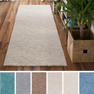 Meticulously Woven Logrono Polyester Rug (2'6 x 8')