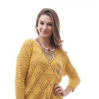 Soho Women Winter One Size Long Sleeve Boxy Open Knit Sweater