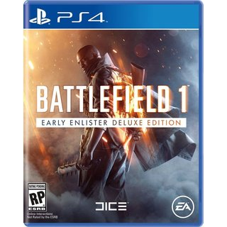 BATTLEFIELD 1 EARLY ENLISTERS DELUXE EDITION - PS4
