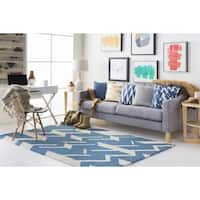 Hand-Tufted Real Wool Rug