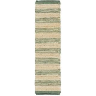 Hand-Woven Prague Jute Rug (2'3 x 12')