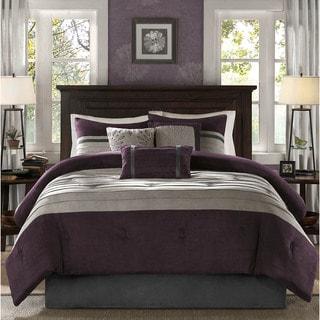 Madison Park Kennedy Plum Comforter Set (As Is Item)