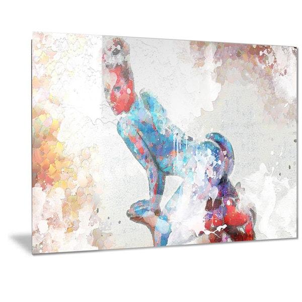 Shop Designart \'Seductive Pose Sensual Metal Wall Art - Free ...