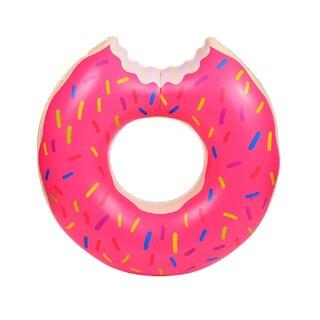 HauteFLoat Giant Inflatable Donut Pool Tube