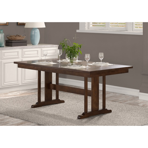 Shop Mission Wood Trestle Table