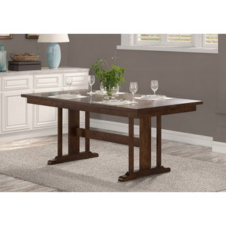 Mission Wood Trestle Table