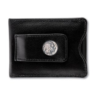 American Coin Treasures Buffalo Nickel Moneyclip Wallet