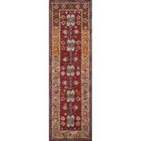 "Momeni Tangier Red Hand-Tufted Wool Runner Rug - 2'3"" x 8'"