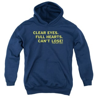Friday Night Lights/Clear Eyes Youth Pull-Over Hoodie in Navy
