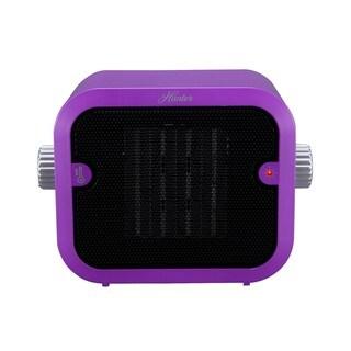 Hunter 1500W Retro Purple Ceramic Space Heater
