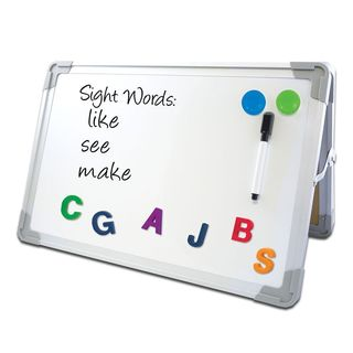 Flipside Products Framed 8.5 x 11 x 0.5-inch Magnetic Dry Erase Board Set with Corrugated Display (Case of 24)