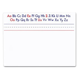 Flipside Double-sided Magnetic Alphabet Dry Erase Board (9 x 12)