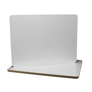 Flipside Products White 18-inch x 24-inch Two-sided Dry Erase Boards (Pack of 6)