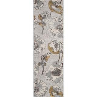 Momeni Luxe Grey Runner Rug (2'3 X 7'6)