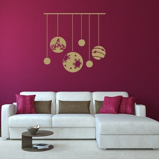 Style And Apply 'Christmas Ornaments' Vinyl Wall Decal
