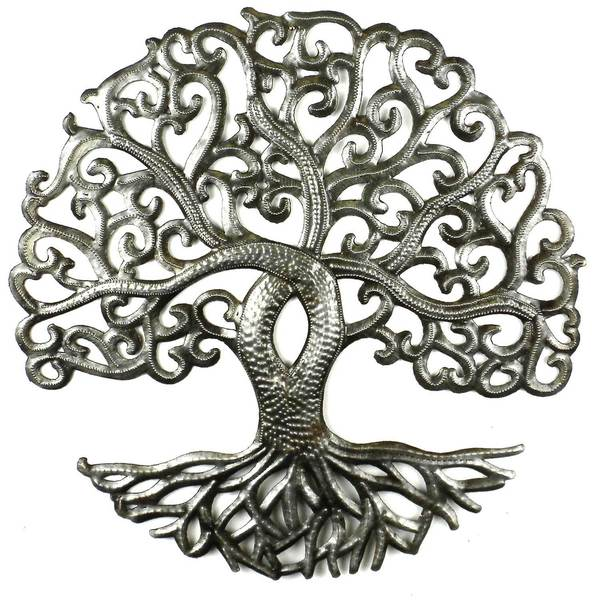 Shop Handmade 14 Inch Tree Of Life Curly Branches Haiti On Sale