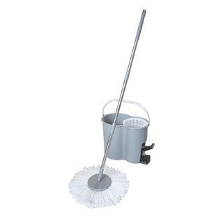 SPIN IT 360-degree Wringing Spin Mop and Bucket with Bonus Mop Head