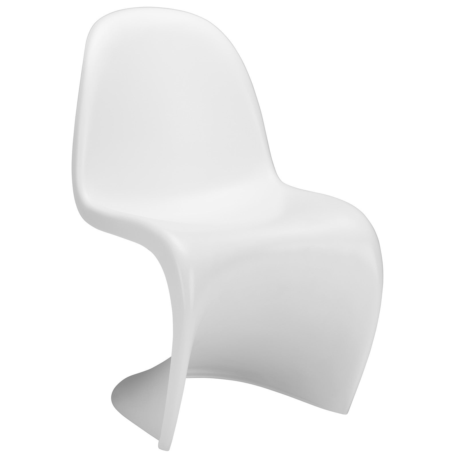 Poly and Bark Verner Panton Style S White ABS Plastic Sta...