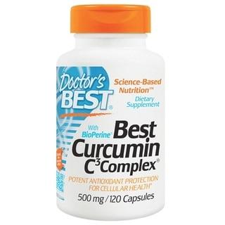 Doctor's Best Curcumin C3 Complex 500 mg (120 Capsules)
